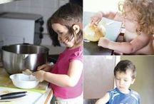 Kids Can Cook / Your family can cook and bake together with these easy recipes! Have a picky eater on your hands? Try these kid-friendly recipes that will have your kids jumping for joy! / by Rice Krispies®
