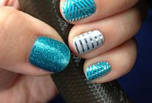 Jamberry Nails / Check out more awesome styles at http://www.bonnymoulton.jamberrynails.net / by Bonny Moulton