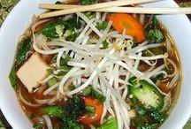 Plant Strong Pho / Vietnamese noodle soup - vegan / by Phil Elliott
