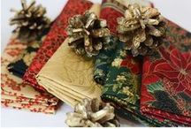 Hoffman Christmas / We have been the leader in the fabric industry when it comes to magical Christmas designs.