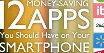 Money Saving Apps / Are you having trouble saving money? Use these apps to help you track spending, make a budget, and save money!