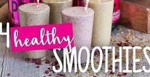 Healthy Smoothies / Cool down during warm weather with these healthy smoothie recipes that the whole family will enjoy.