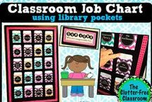 Classroom Walls: JOB BOARDS / This board features a collection of student job boards and tips for managing jobs in an early childhood / elementary classroom. / by Clutter-Free Classroom