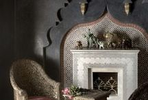 Moroccan Maison Collection / Capture the exotic warmth of Morocco with our authentic, carefully crafted furniture, lighting and tableware at www.indeeddecor.com . We scour the mazes of Moroccan Souks to add to our treasures.