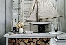 Beach Cottage Collection / Whether you're hours away from a coastline or steps away from golden sand, bring the beach inside your home through classic & rustic, sea-inspired decor. / by Indeed Decor