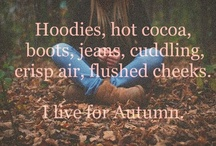 Autumn - my season!