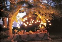 Candle Light Romance / Want an easy way to add welcome and warmth to your space or romantic ambiance to any occasion?  Its as simple as lighting a match. Candles add magic to home decor and special occasions. Yes, they create light,but, they also create warm ambiance in any room in any space, indoors or out. Cluster them, use a variety of heights,and show case candles in stylish candle holders.