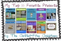 MY PRODUCTS / by Clutter-Free Classroom