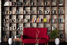 Book Nooks & Work Spaces / Make working from home comfortable and stylish! / by Indeed Decor
