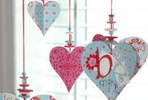 Valentine's Crafts & Ideas / Crafts and ideas of things that are great for Valentine's Day