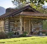 "Fishing Shack / Post a ""Gone Fishing"" sign and escape to a charming, modest dwelling that fits in to it's environment."