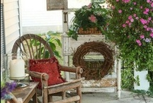 Porches / Blur the lines between indoors and out and extend your living area with a welcoming porch!