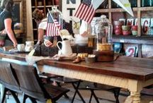 4th of July Celebration / Show your all-American spirit with an eclectic mix of vintage details and entertaining ideas.