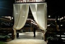 Santa Fe River Ranch / Wedding venue, pins are from various vendors who shared their photos.