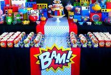 Boys' Birthday Parties / by Meredith Davis Aossey