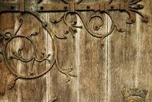 Details / Details make the difference!  World travel influence our collections of Hacienda Hardware and Garden Wall Decor.