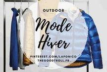 Mode Outdoor / Hiver / Vêtements d'hiver, d'outdoor, doudounes, vestes, polaires, vêtements qui me font envie où que je  porte !