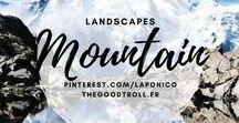 Mountain landscapes / paysages de montagne, Alpes, Dolomites Landscapes in mountains : alpes, dolomiti...