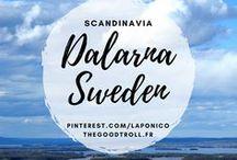 Dalarna, Sweden / Paysages de Suède, Dalécarlie Dalarna Landscape, from Sweden, spring