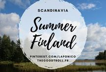 Finland in summer / Landscapes of Finland, in summer. scandinavia dreaming