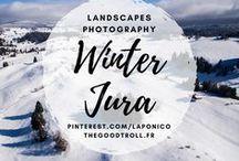 Jura / Le #Jura en Franche-Comté, une région de France que j'adore, la Laponie en France. French Lapland !