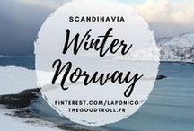 Norway / Winter / Norway Landscapes, in winter. Oslo, Tromso, photos de Norvège.