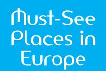 Must See Places in Europe / Europe and the United Kingdom boast a huge array of 'must see' sights. **Invited contributors: Please share your best pins of attractions and destinations that you encourage others to visit on their trip to the UK and Europe. This board is NOT for general tips or packing lists - it's for photos of destinations you recommend others visit.