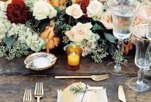 Unforgettable Wedding Tables / At Diving Dog Vineyard  personalization, imagination, color coordination and attention to detail are ingredients to simply unforgettable wedding tables.  Components like place settings, linens, signage, candles and florals all combine to create dining tables that make guests feel special and make memorable impressions on all who attend your wedding.