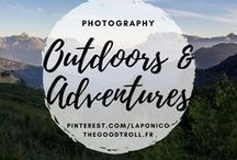 Adventures & Outdoors / Landscapes photography, mountains and lakes, adventures ans outdoors activities