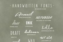 Design: Typography / Typography and fonts