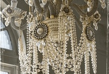 chandeliers / by Rufina Ebersol