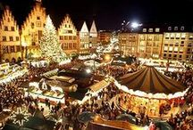 Never too early for Christmas!  / Christmas markets, Christmas presents, tinsel, mulled wine, gingerbread biscuits... What's not to love about Christmas? So why not start the festivities early?
