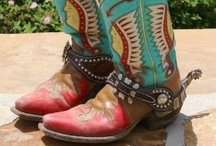Cowboy Boot Passion / Cowboy Boots I own and Yearn to own / by Susan Dilger (TaosEdge)