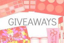 GIVEAWAYS / Find out about amazing Pampadour giveaways here!