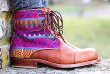 Boot-spiration! {Handcrafted} / We could stare at the work of our boot and textile artisans and boot designs by our customers all day.  Follow us on Instagram  @teysha_world