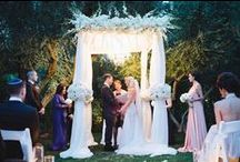Jenn and David The Parker Palm Springs / The Parker Palm Springs STYLIZED OLD HOLLYWOOD GLAM! Colors of white, blush and gold! Flowers and succulents as art… Creative and stylized with a desert twist…Romance and Candlelight!