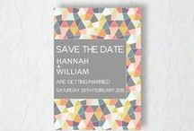 Save the Dates - Yennygrams Inspiration / Save the date designs for weddings