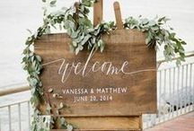 Welcome Signs - Yennygrams Inspiration / Event Welcome Signs - weddings, birthdays, etc.