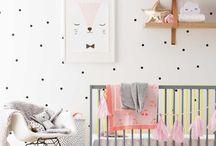 nursery style / nursery decor, modern nursery, design, creative, boho, creative, nursery interior, nursery, playful, color, kids, children's room, children's space, baby, home