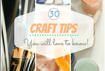 CRAFT & DIY IDEAS / Best collection of craft tutorials, DIY ideas for home, studio, jewelry and accessories