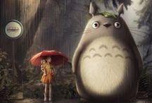 Ghibli / Jap-animation, images and manga books from Ghiblis, Miyazaki and/or Takahata...