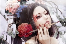 Women in comics and fantasy art / Representation of Women in art: illustrations and comics pics