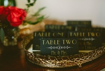 Art Deco Wedding Ideas / by Sarah Pogorzelski