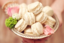 Macaroons / These delicate French treats make a delicious addition to any dessert display and an excellent guest favor on your wedding day.  What a sweet way to say thank you! / by Andrea Freeman Events