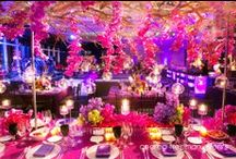Mandarin Oriental New York / A glamorous wedding with a nod to the bride's Indian heritage using bold Bollywood color! Held at Mandarin Oriental New York.  Special thanks to Studio Webber for the fabulous images and Tantawan Bloom for stunning floral arrangements!  Fabulous to work with both of you! / by Andrea Freeman Events