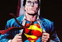 DC Comics - Superman & Superboy / Illustrations de Superman