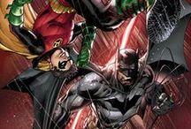 DC Comics - Batman & Robin / Illustrations de Batman et Robin