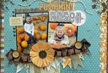 Fall scrapbook ideas / by Karen Jorgensen