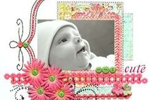 Baby Scrapbook Ideas / by Karen Jorgensen