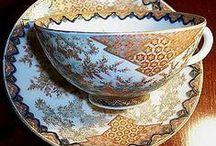 Japanese Porcelain / Vintage/antique Satsuma, Imari/Arita, Noritake, Kutani... Everything from vases to teacup sets to buttons. / by Taegan Harker